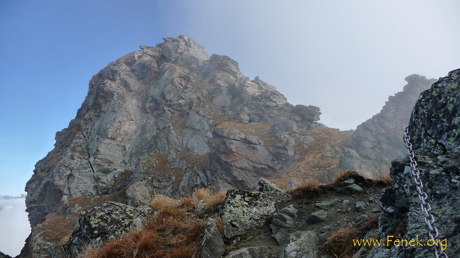La Brinta - Aufstiegsroute