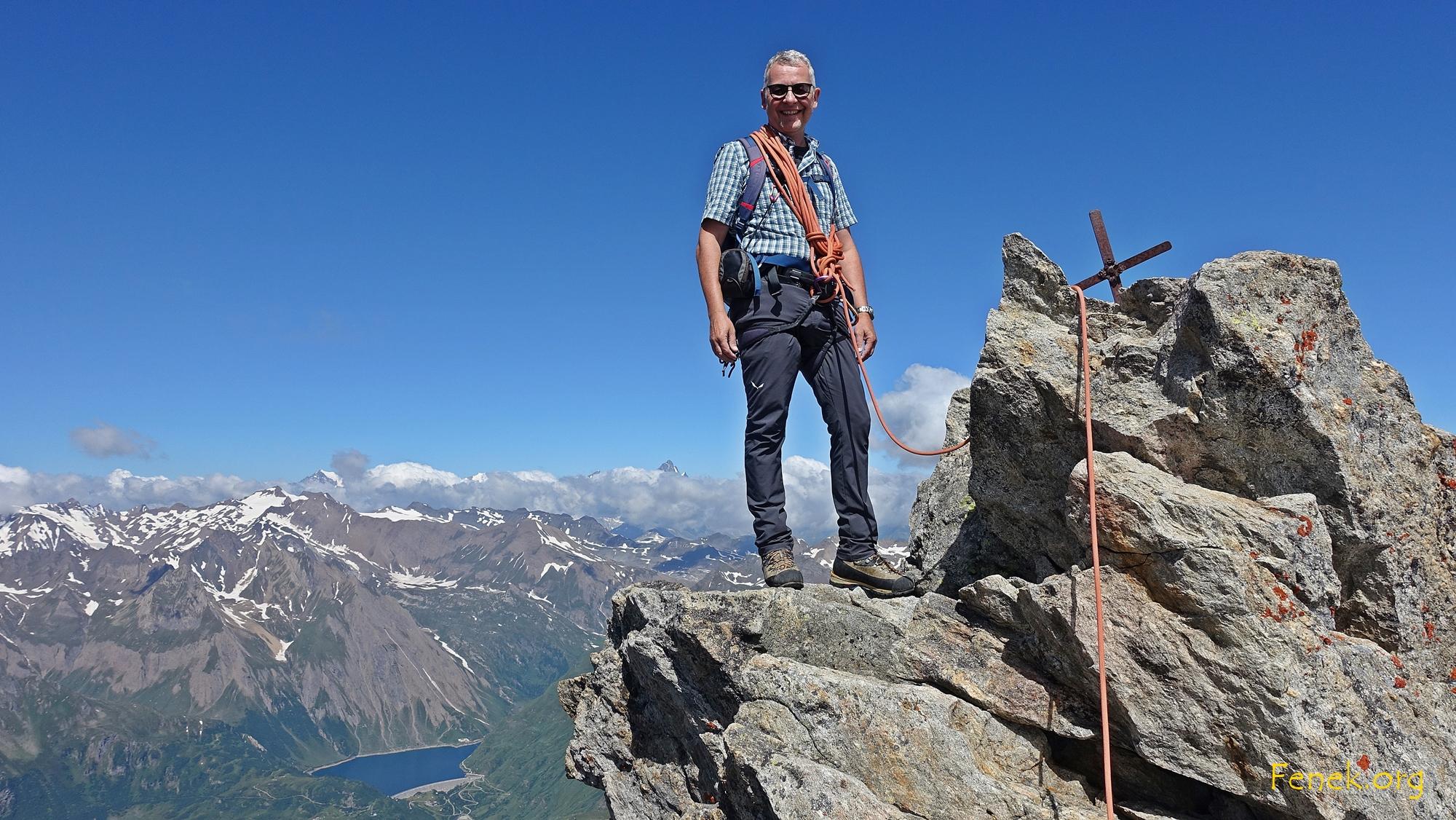 Gipfelglück - grosse Freude :-)