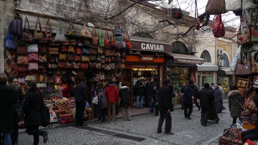 in den Bazars