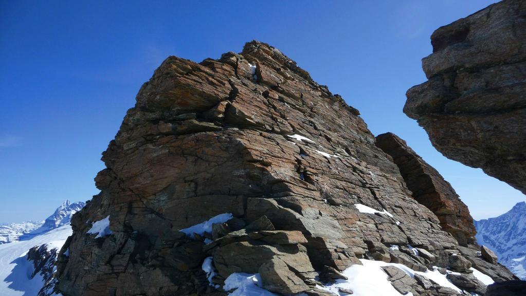 Kletterfelsen am Gipfelkopf