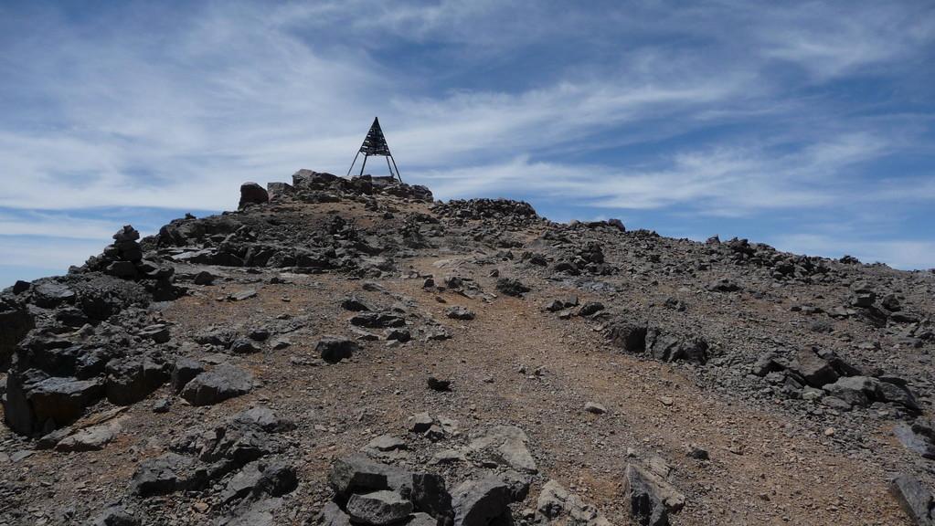 da ist er! Gipfel vom Toubkal 4'165m