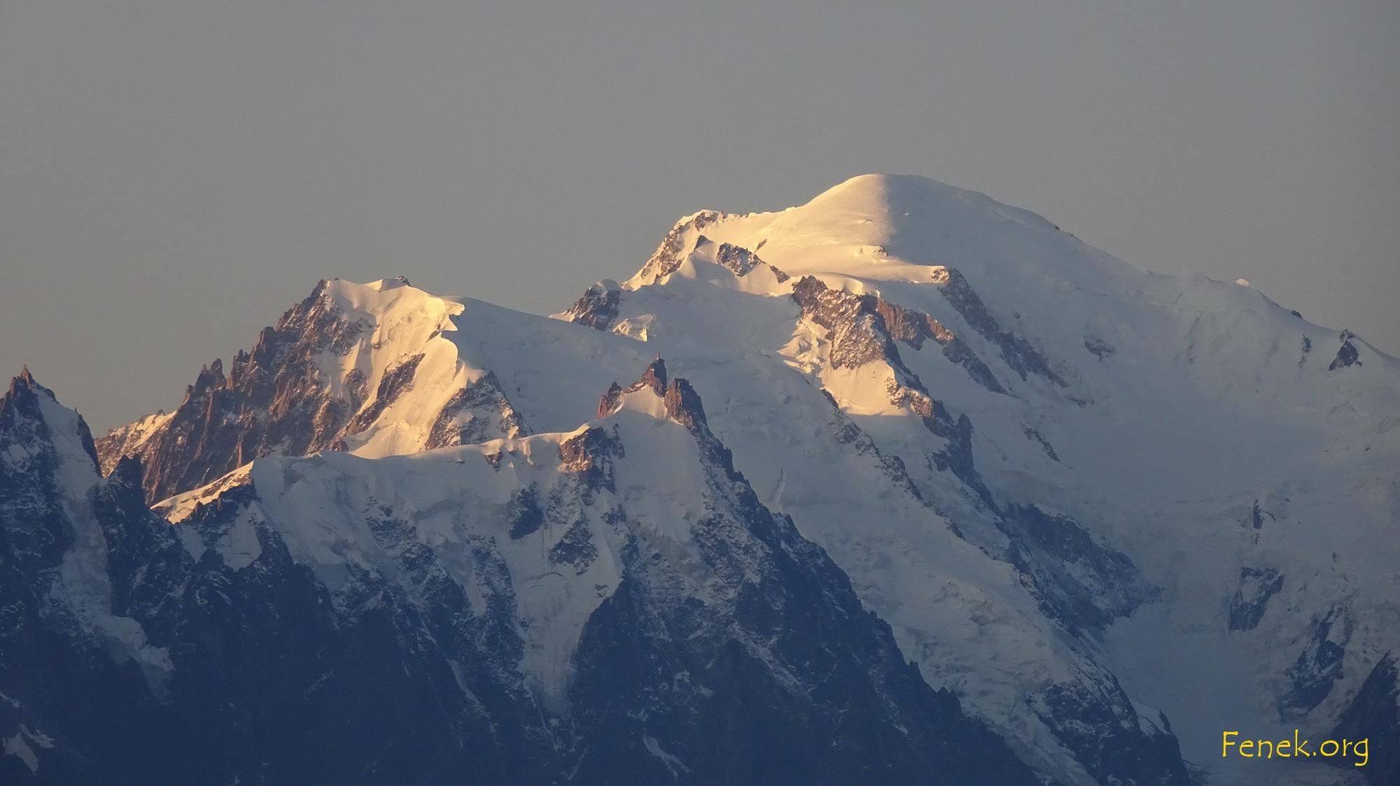 Aiguille du Midi - Mont Blanc du Tacul - Mont Maudit - Mont Blanc - 2008 mit Ski gemacht :-)