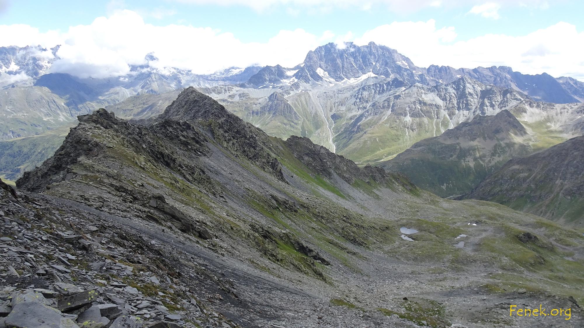 Mont Velan immer noch umnebelt