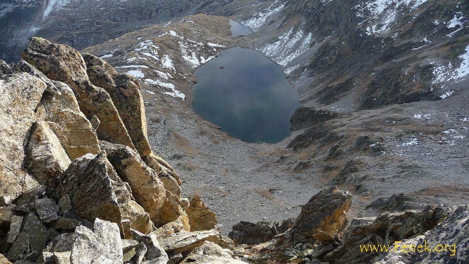 Gipfel Tiefblick zum Gross See