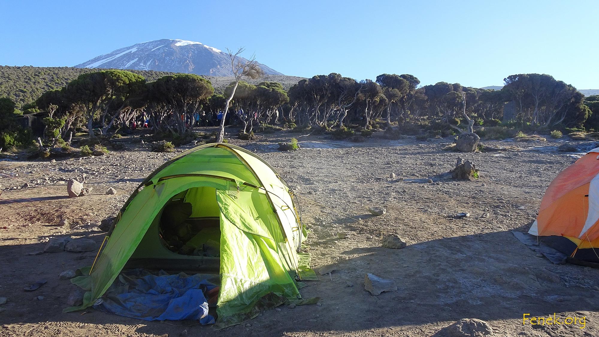 Lager auf 3'800m