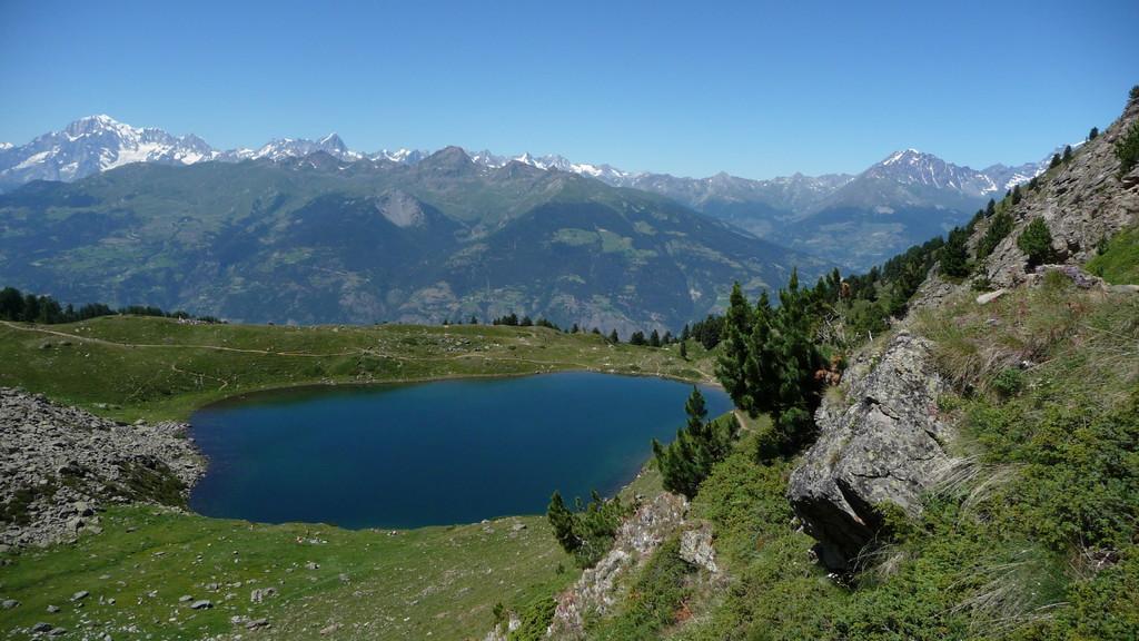 Lago di Chamolé am Nachmittag