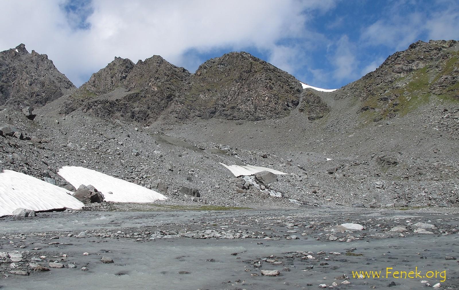 wo der Schnee liegt - Col de Prafleuri