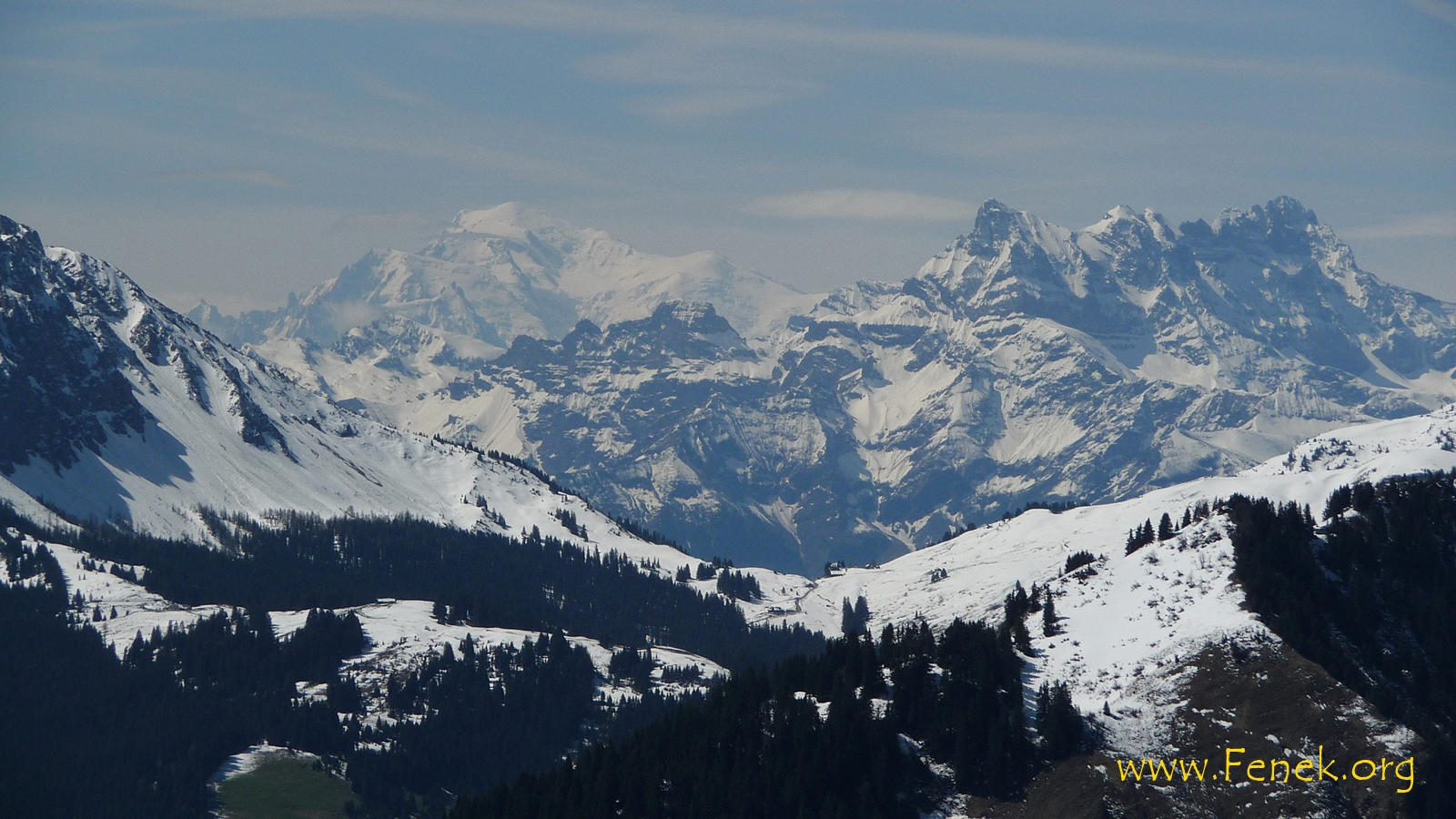König der Alpen und Dents du Midi - auch ein Traumberg