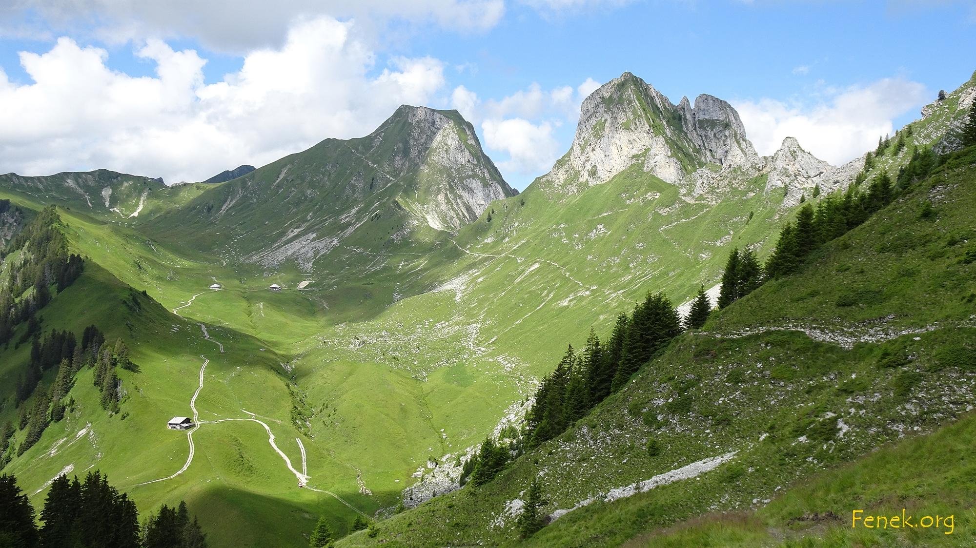 Gantrisch und Nünenen - die beider Stars der Gegend