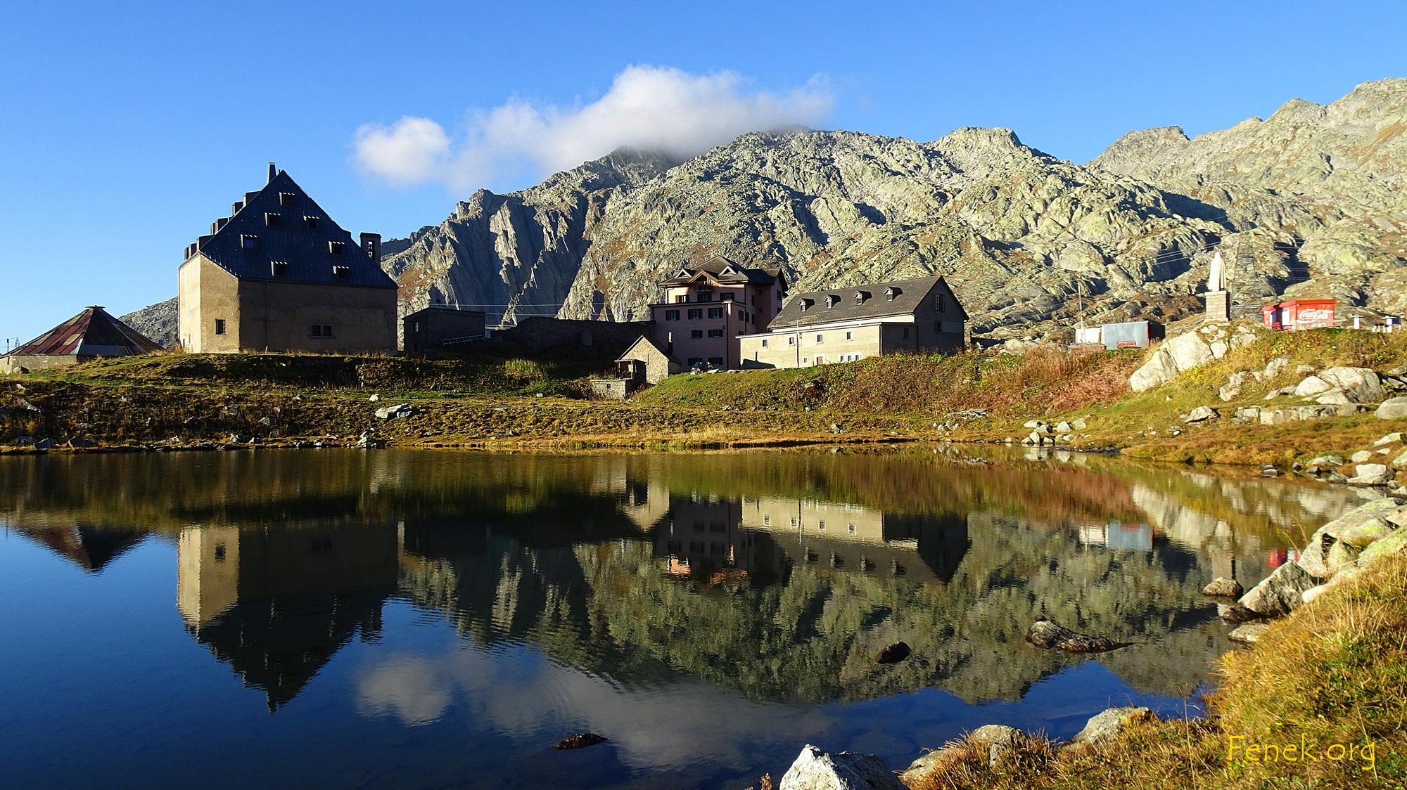 Start beim Gotthardpass
