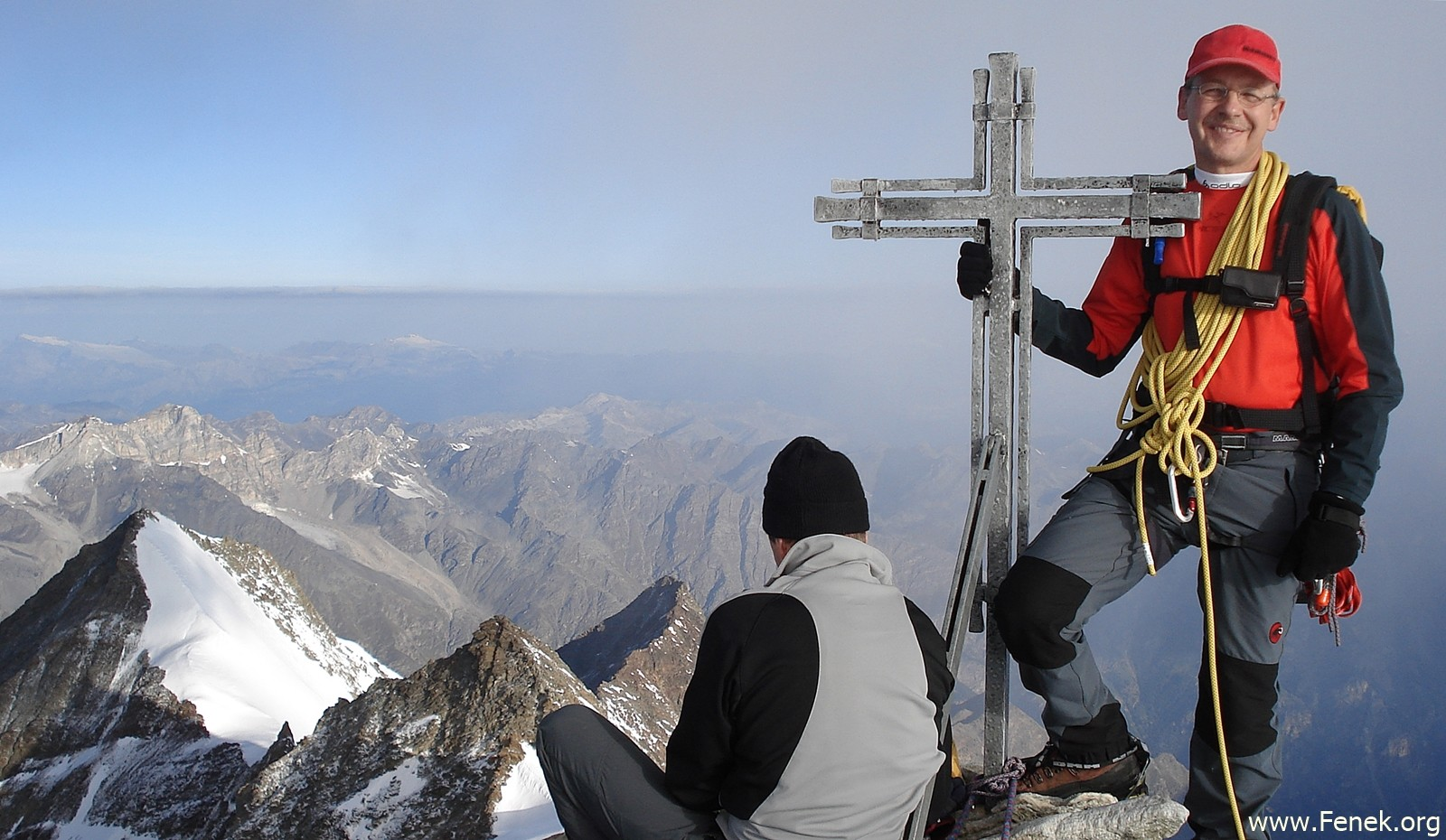 Gipfelfreude Nadelhorn