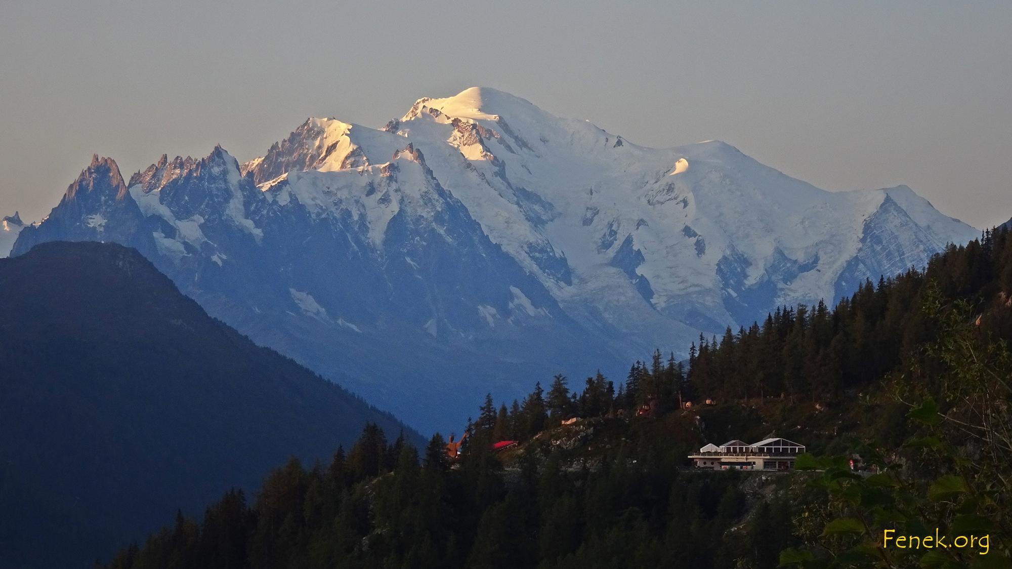 am Mont Blanc wird es sonnig