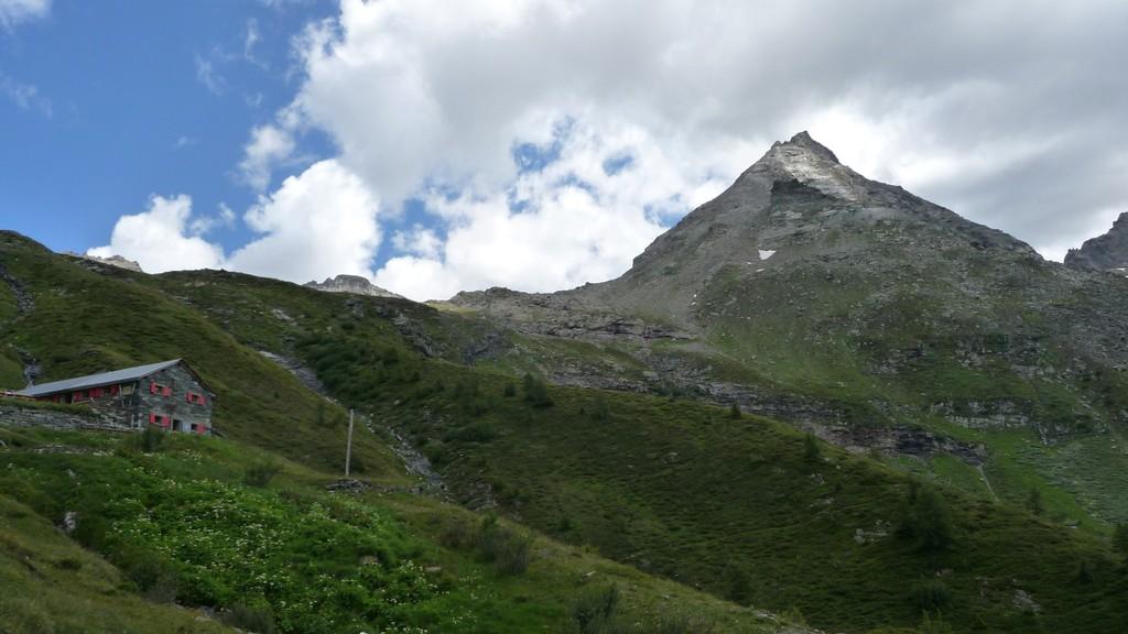 Hütte und Furggubäumhorn