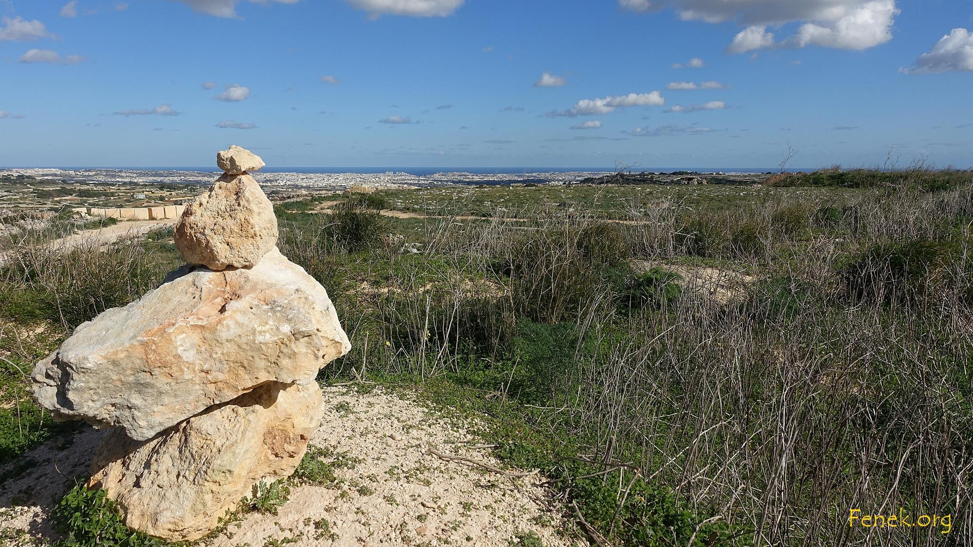 Höchster Punkt von Malta - Ta'Dmejrek 253m