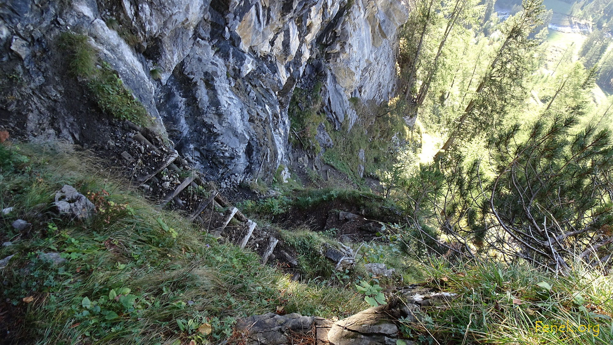 steile Passage