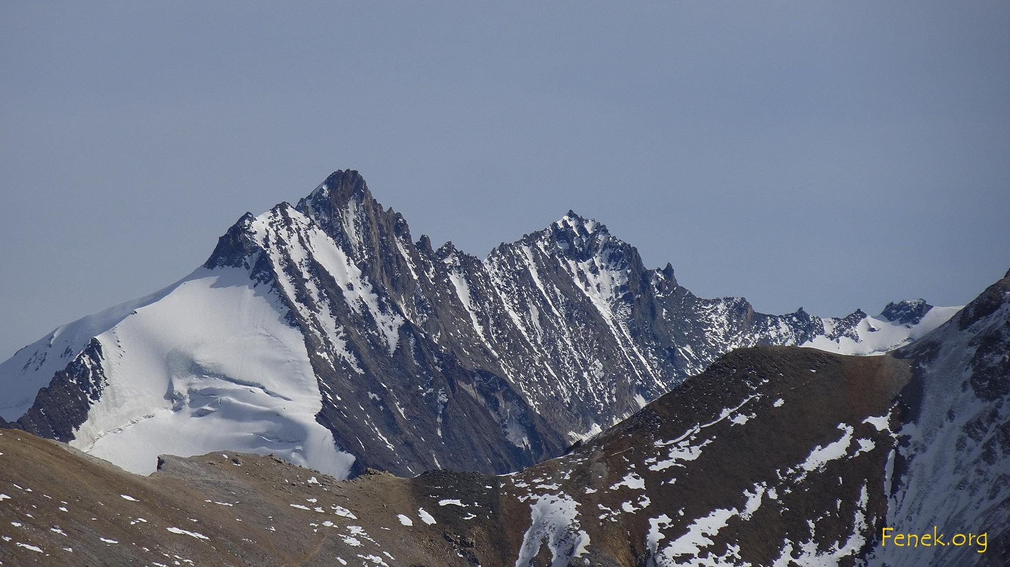 Nadelhorn und Lenzspitze