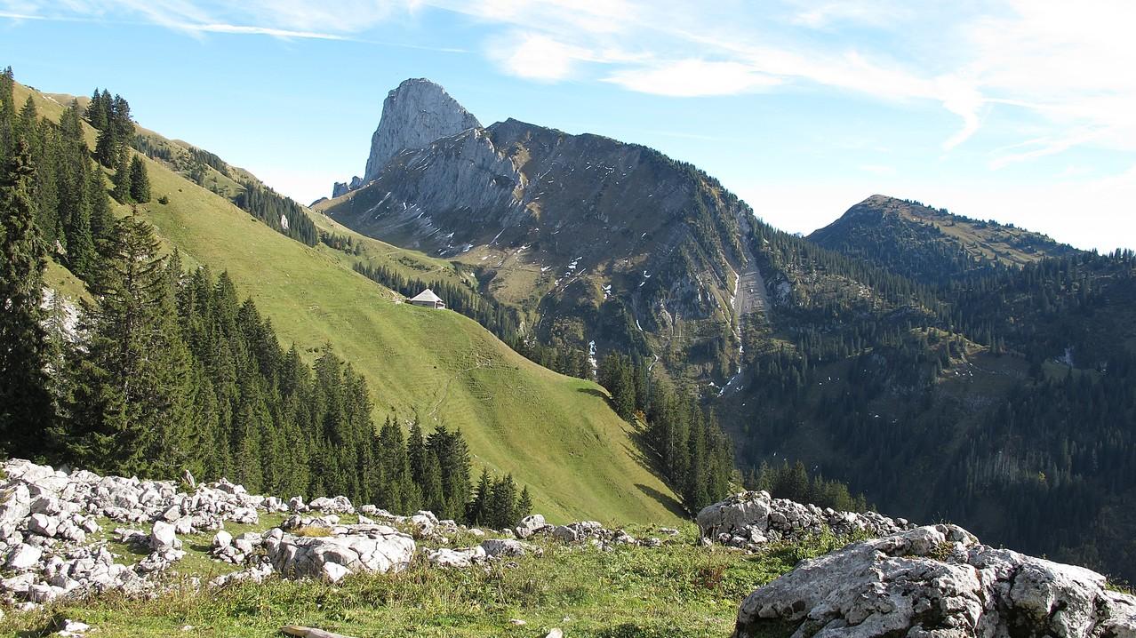 Rückweg zum Stockhorn