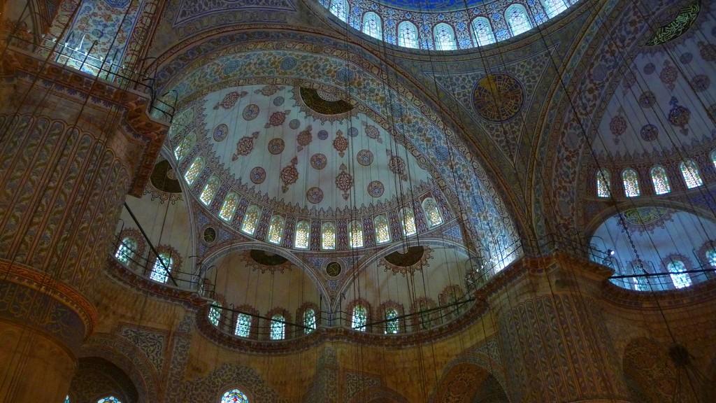 """darum heisst sie """"blaue Moschee"""""""