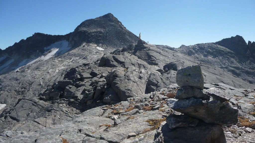 Joderhorn und Monte Moro Pass