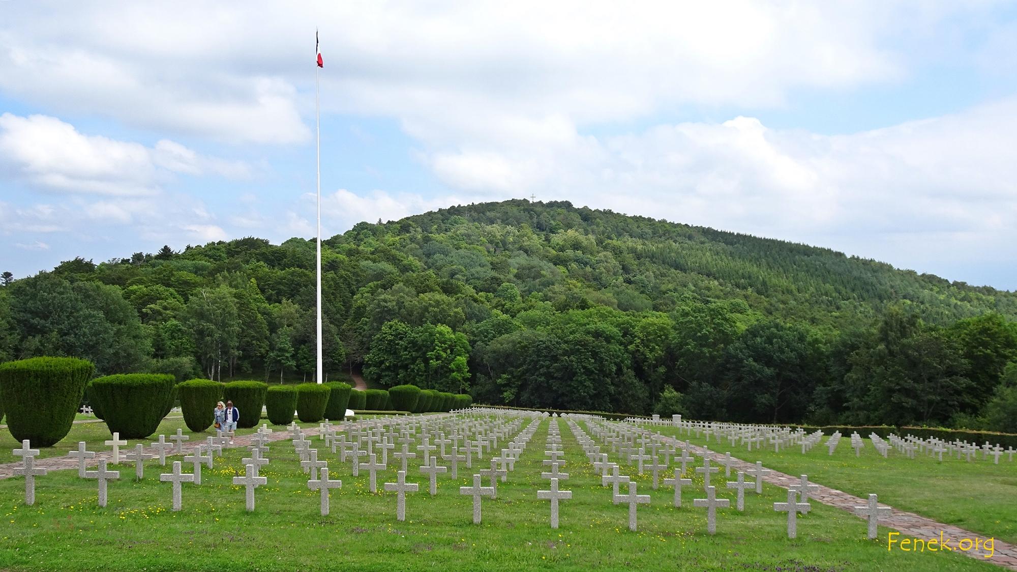 Schlachtfeld Hartmannswillerkopf 1. Weltkrieg