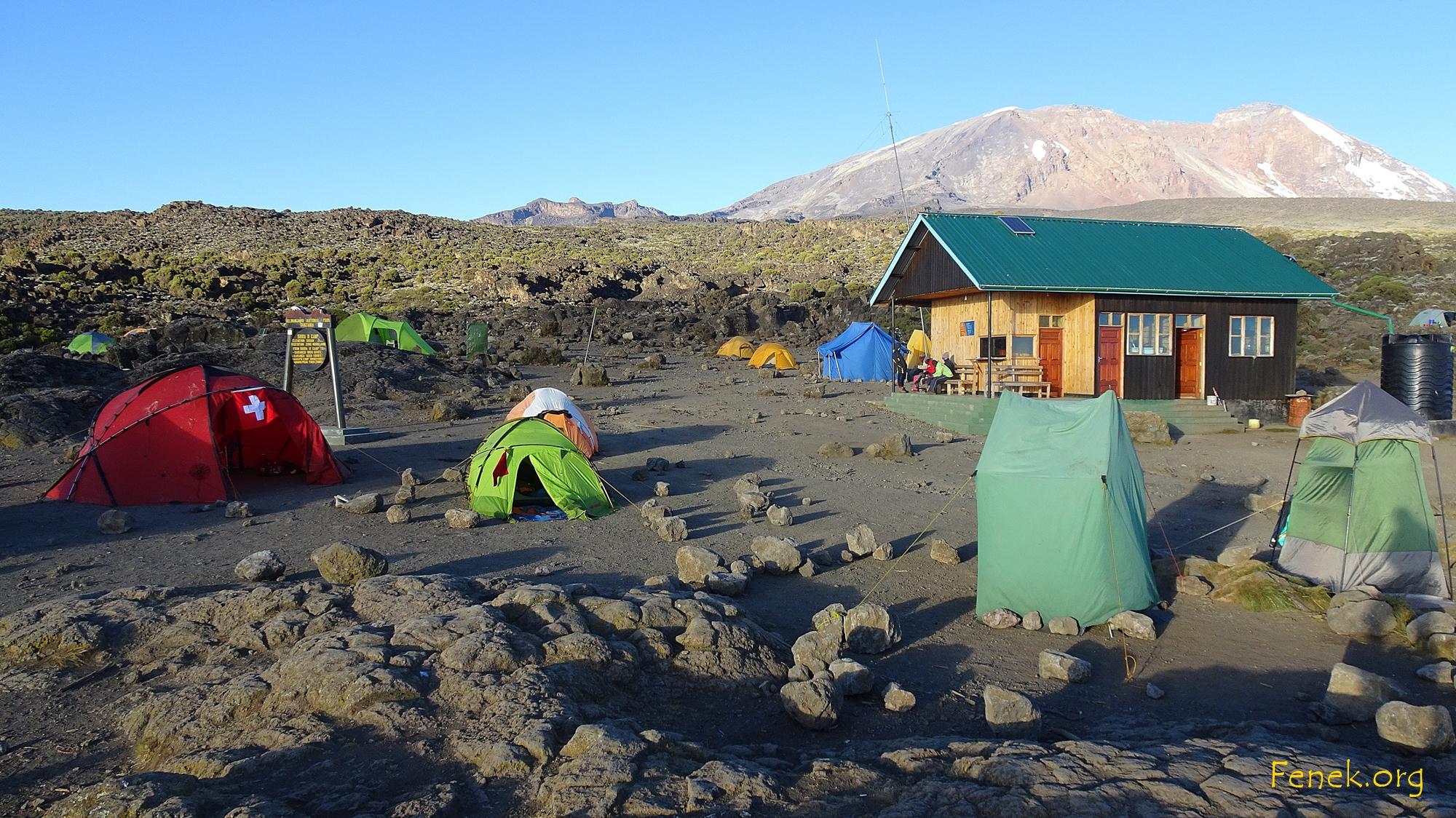 Camp auf 3'800m