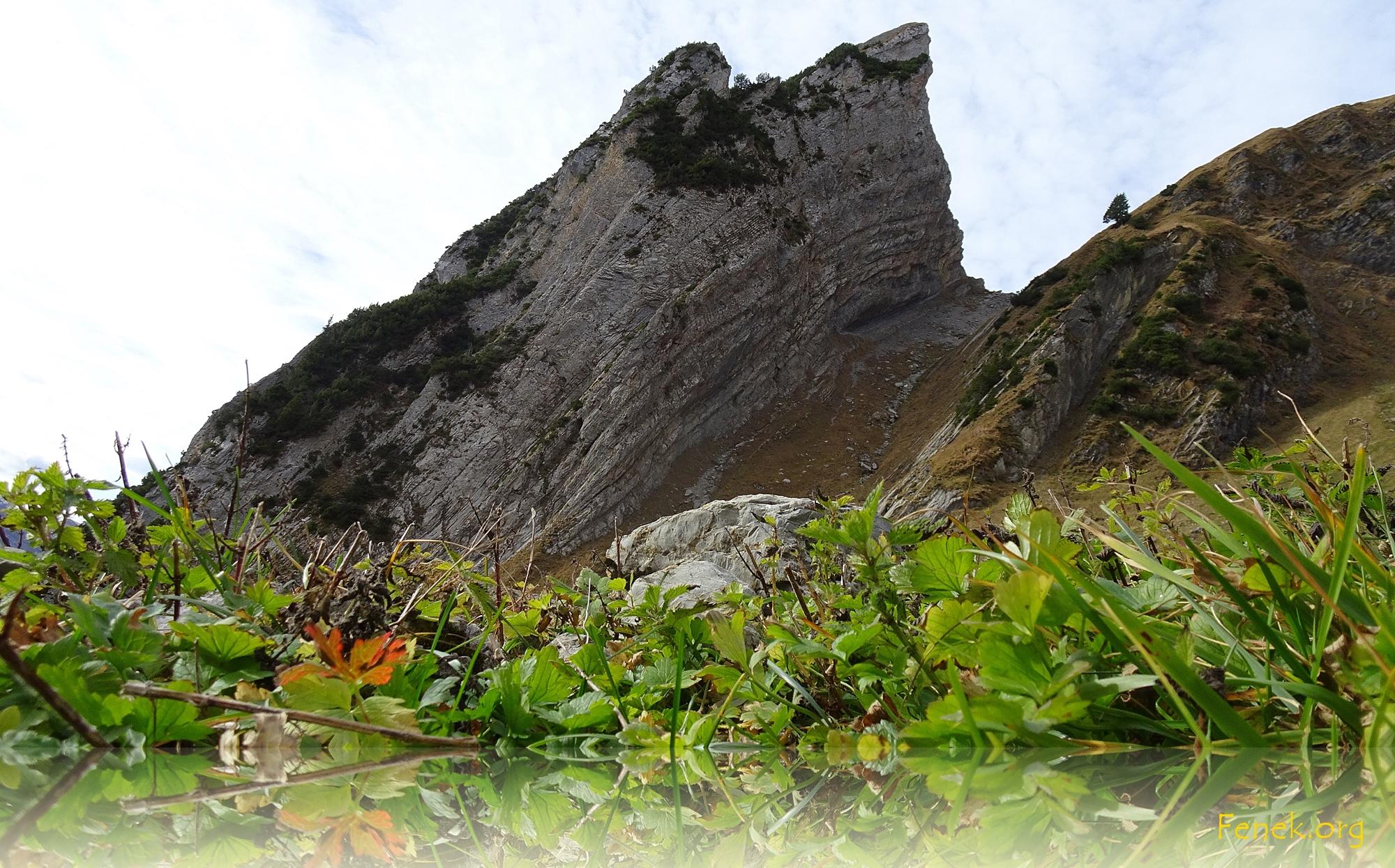 Zehenspitz - ein wahrlich steiler Felszahn