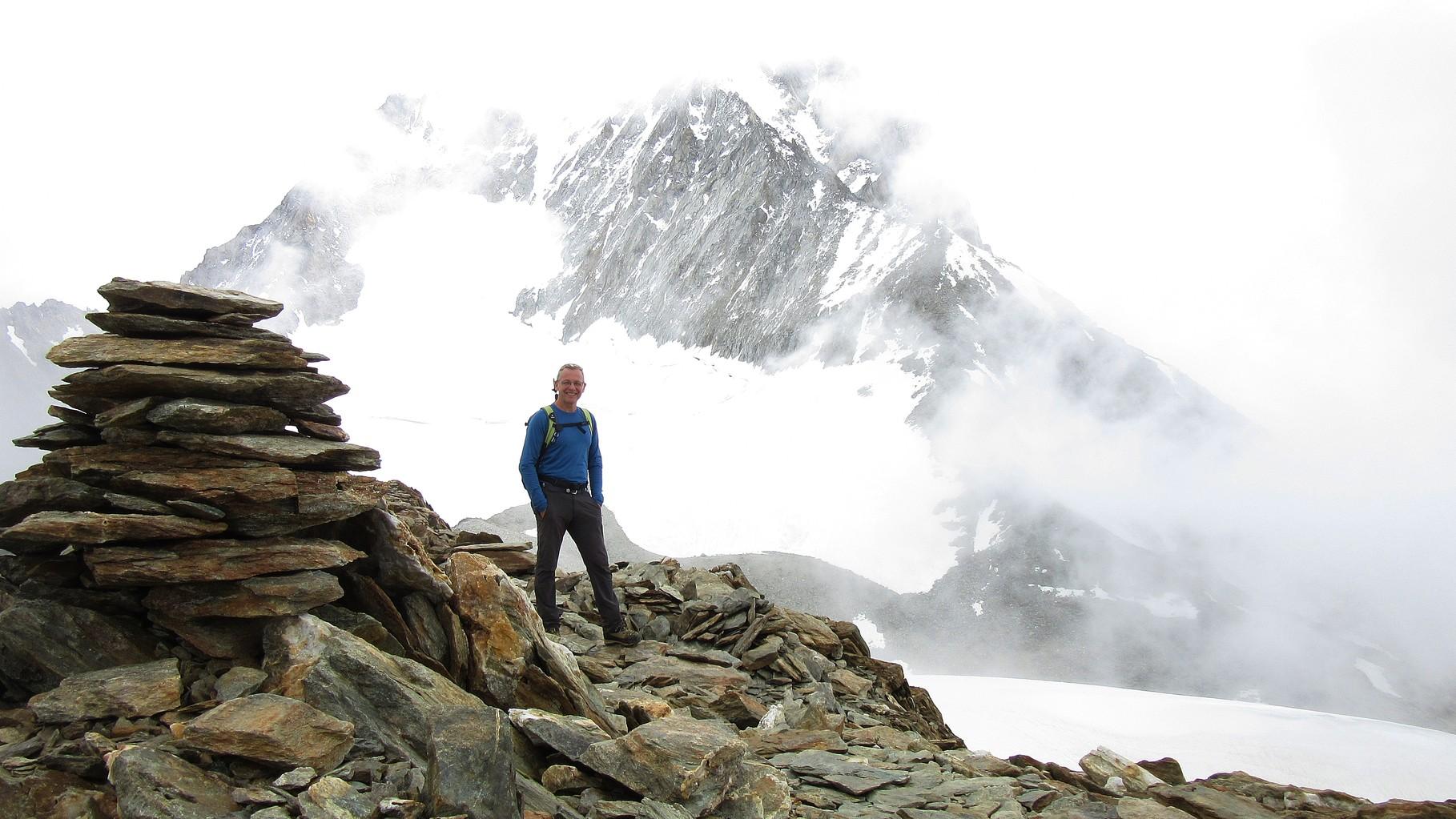 und glücklicher Gipfelmann....