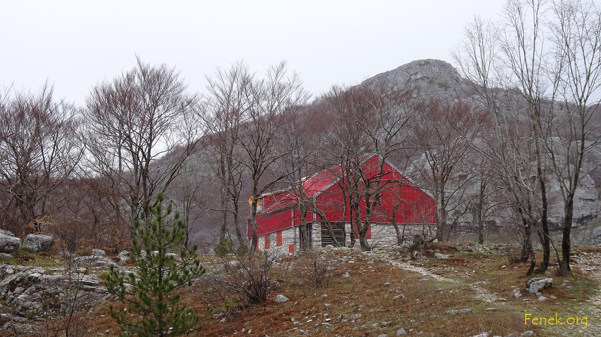 die Berghütte Za Vratlom 1'167m