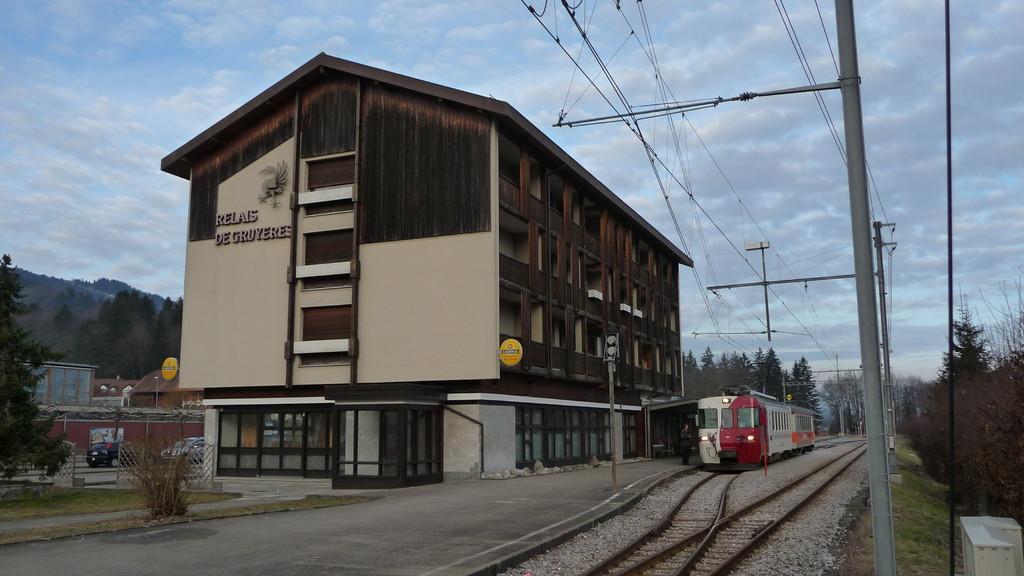 Bahnhof von Gruyères