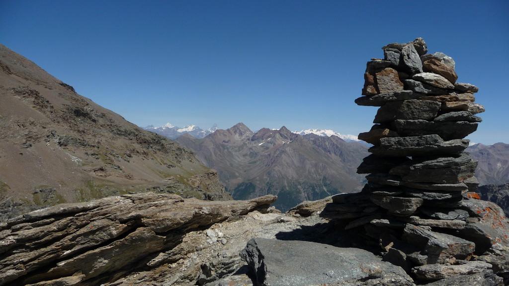 auf der Cresta del Lauson 3'208m