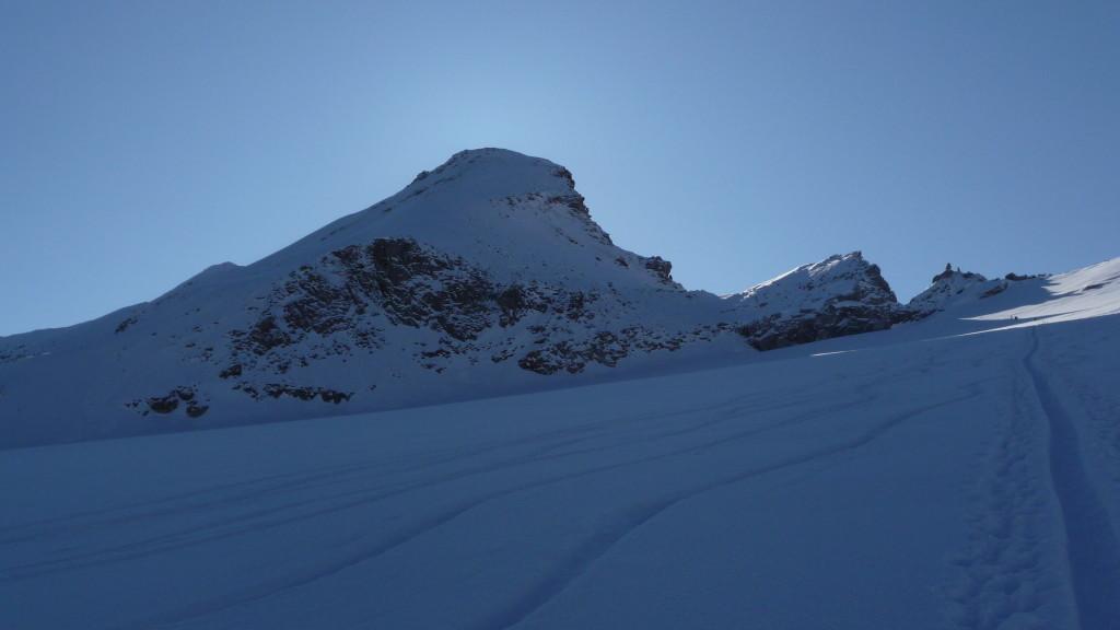 La Tresenta - rechts davon der Col di Moncorvè 3'347m