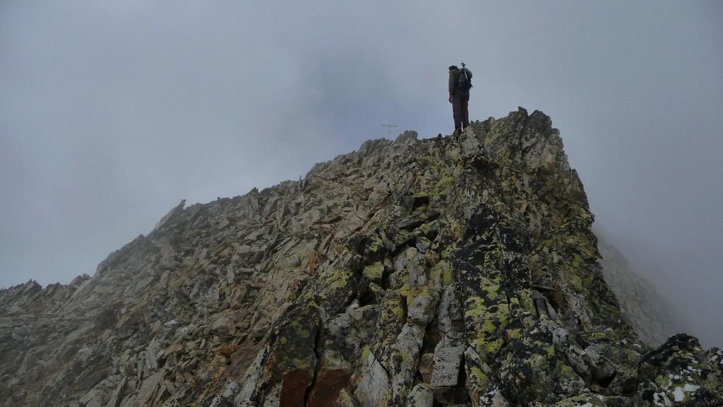 der Gipfel schon greifbar.....