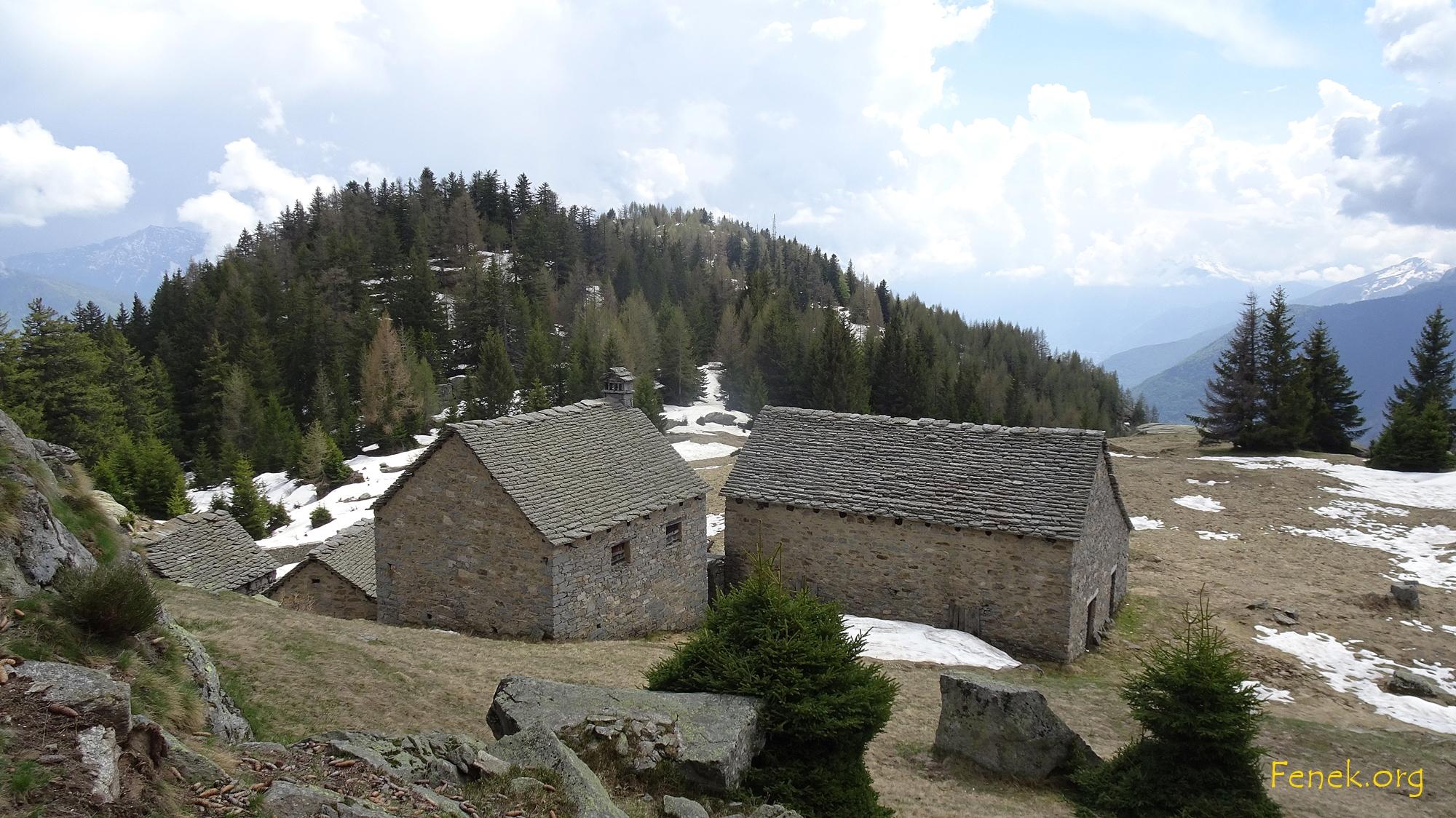 eine verlassene Alp
