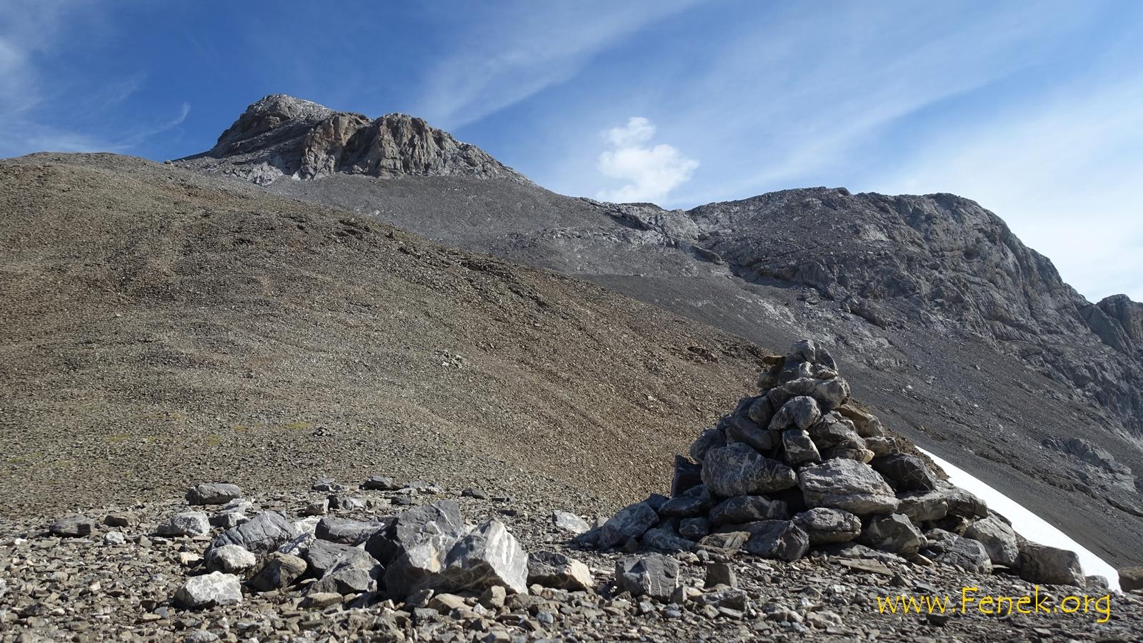 auf dem Schnidejoch und Blick zum Schnidehorn