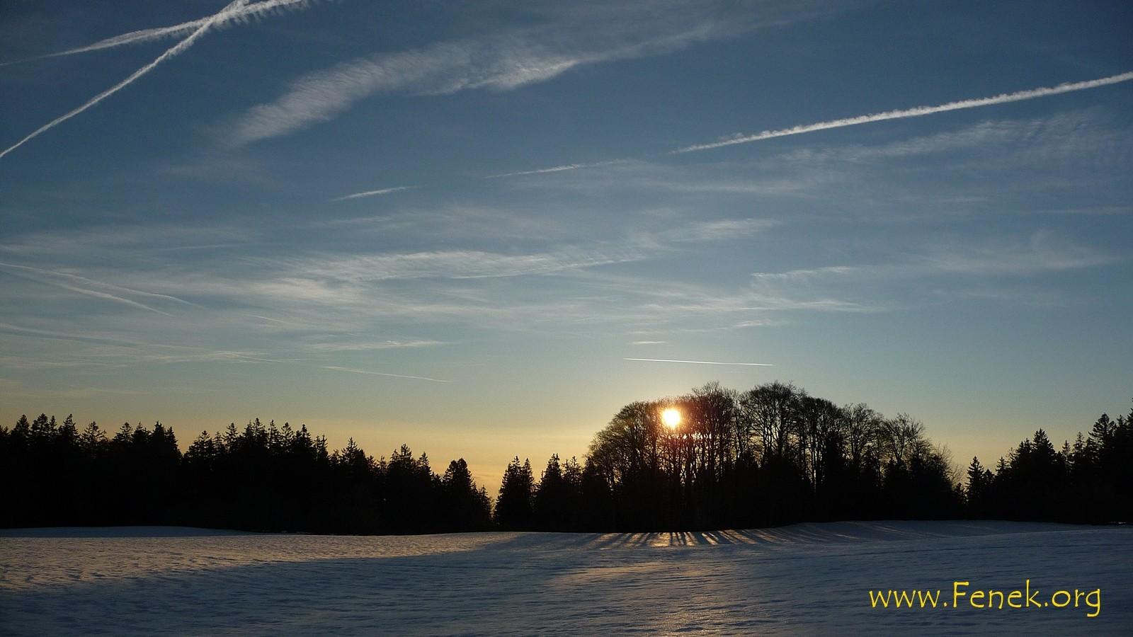 Die Sonne kommt......