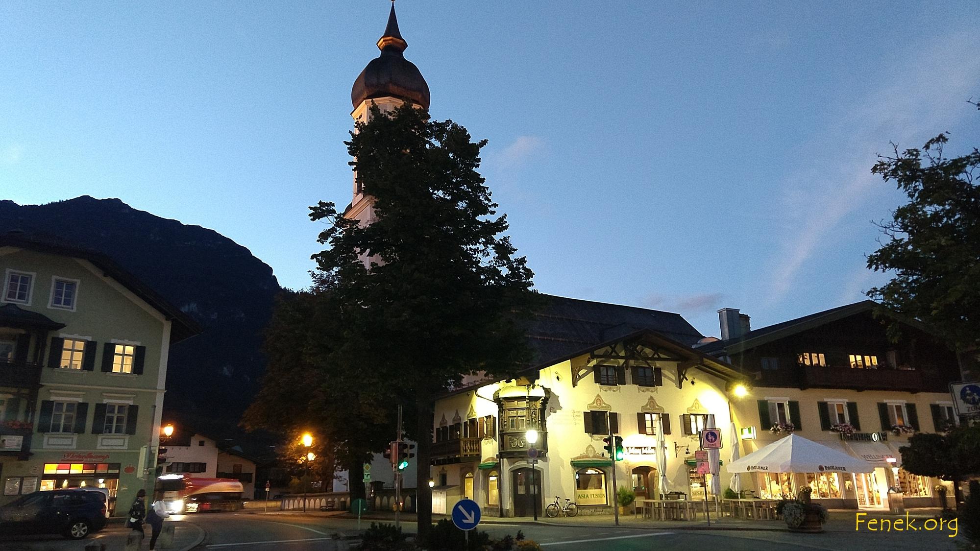 Kirche in Garmisch Partenkirchen