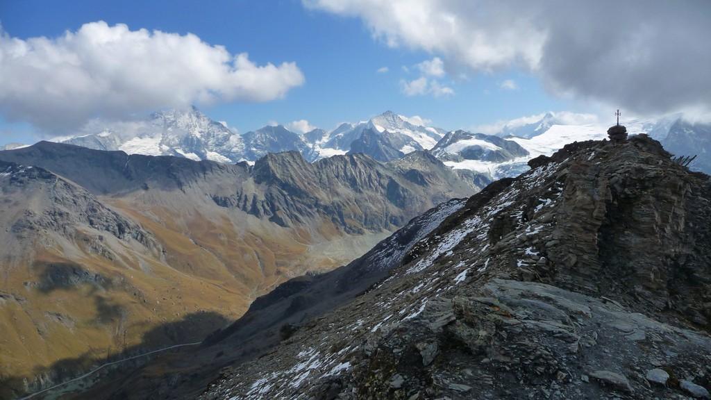 Gipfel Pointe du Tsaté