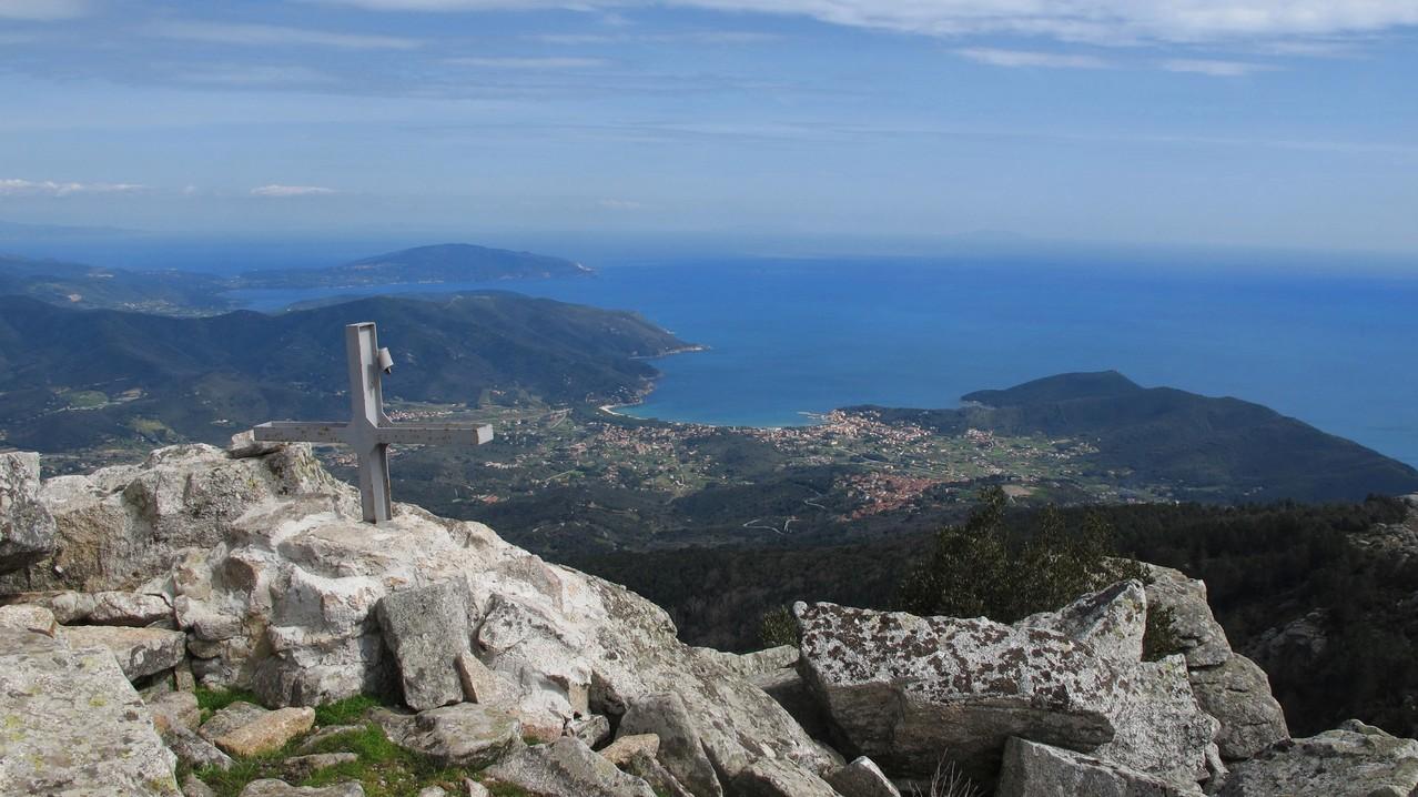 Gipfel Le Calanche