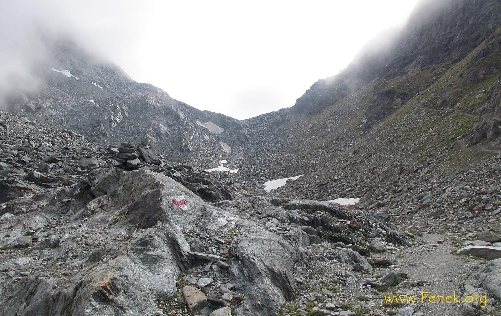 Zugang zum Col des Otanes