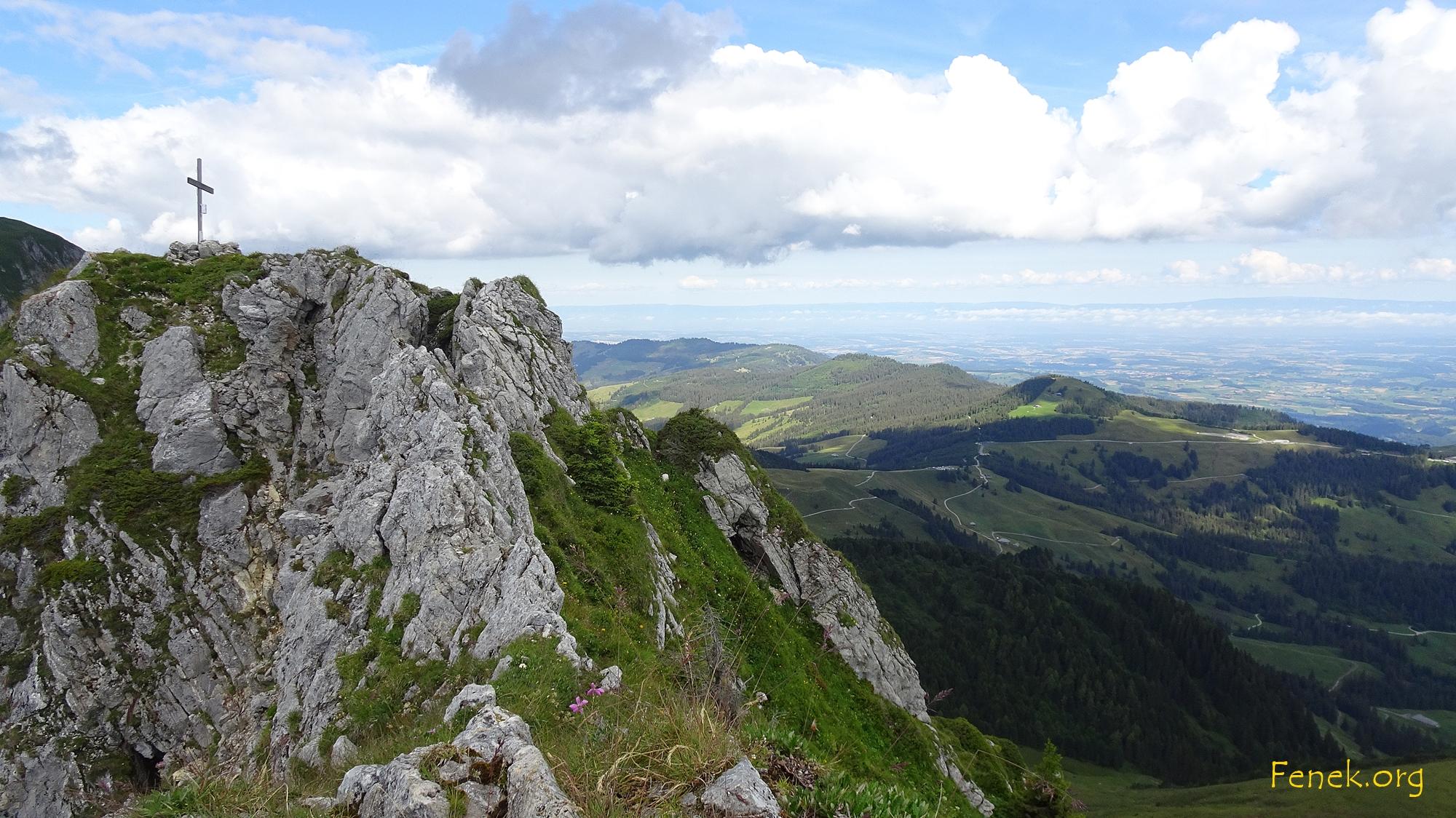 Gipfelkreuz Gustispitz