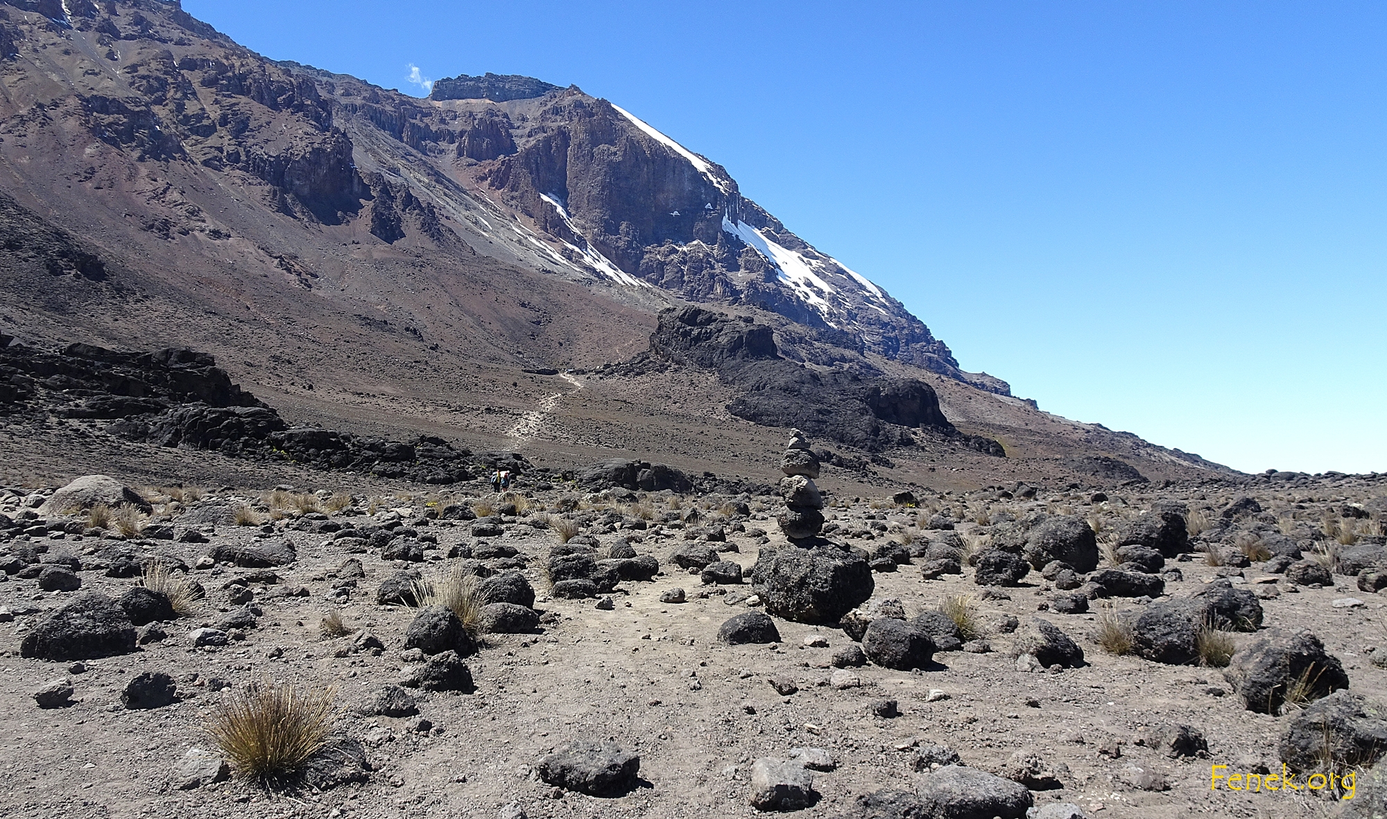 der Lava Tower kommt näher