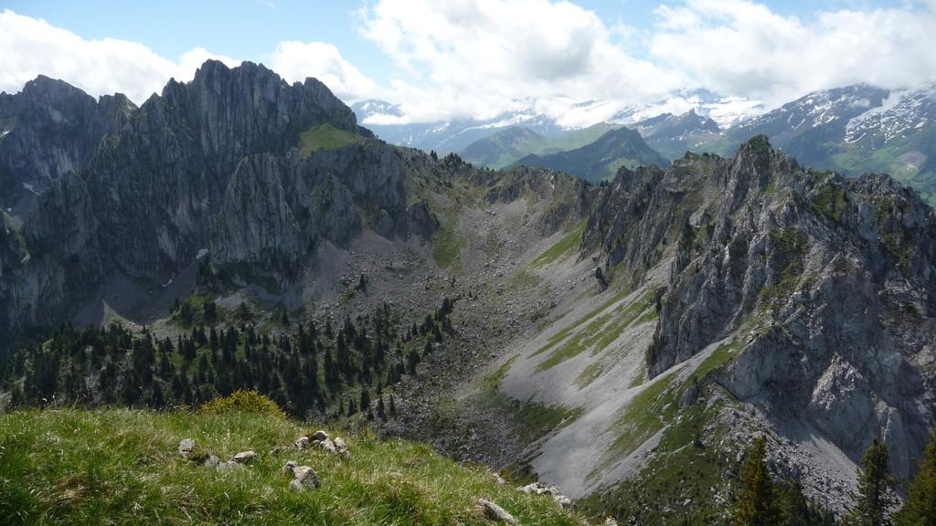 links La Douve - rechts Coumetta