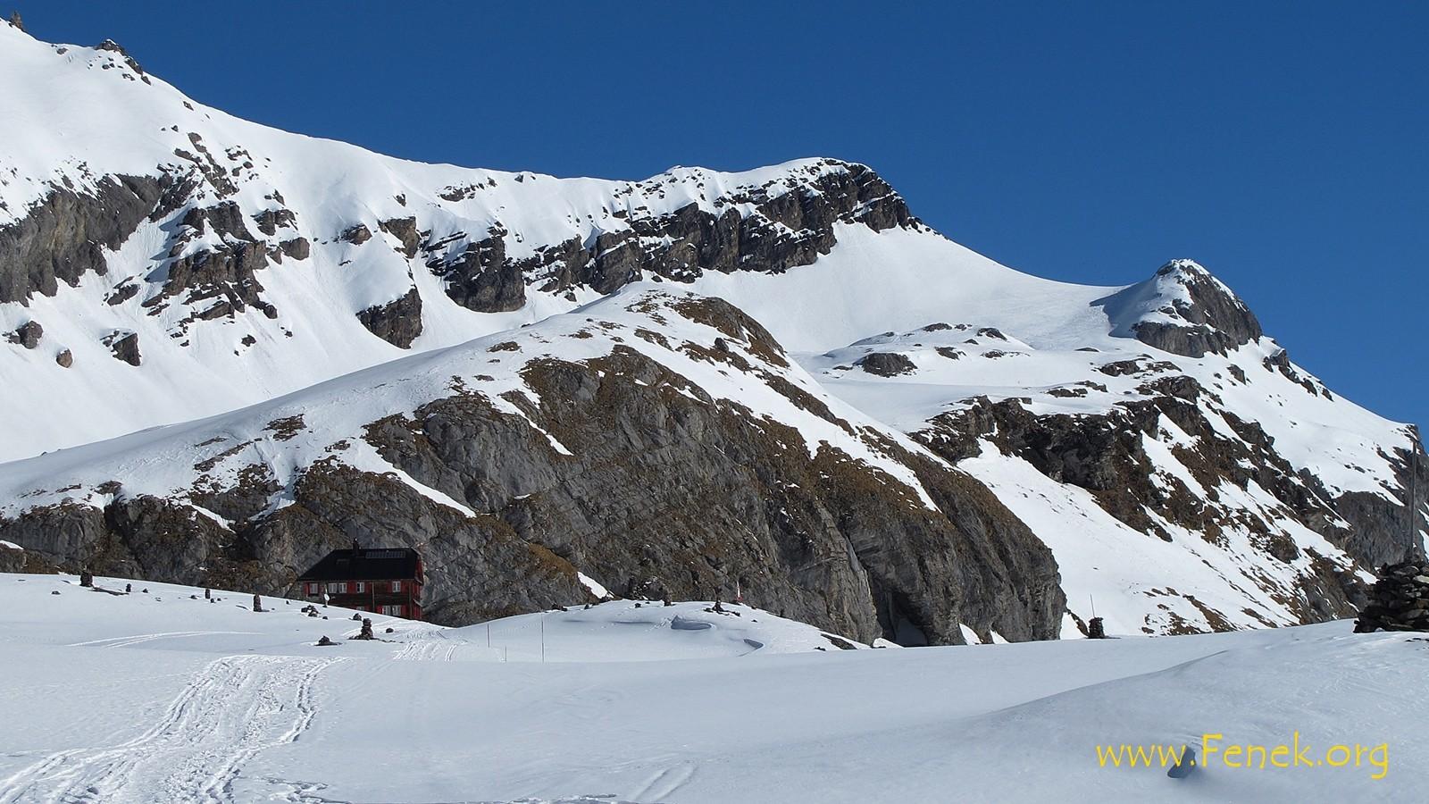 Lämmerenhütte und Rote Totz Lücke
