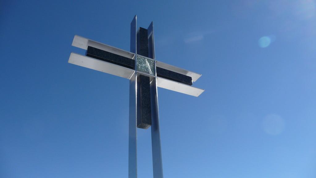 Gipfelkreuz Strahlhorn