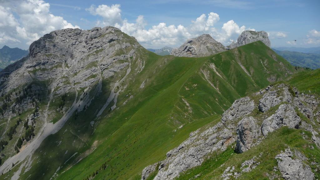Rocher Plat - der letzte Gipfel für heute.....