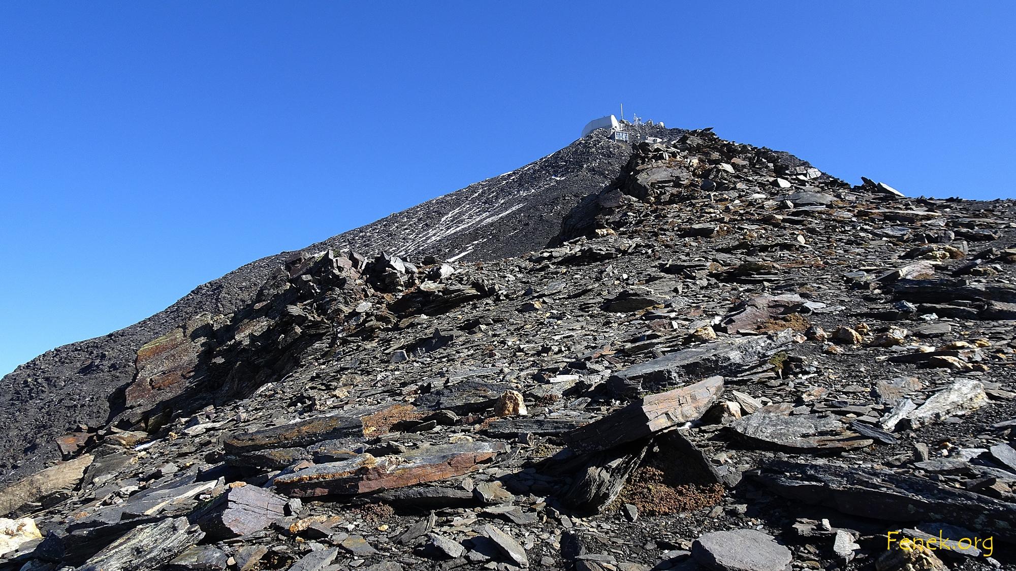der Gipfel naht, es wird steiler
