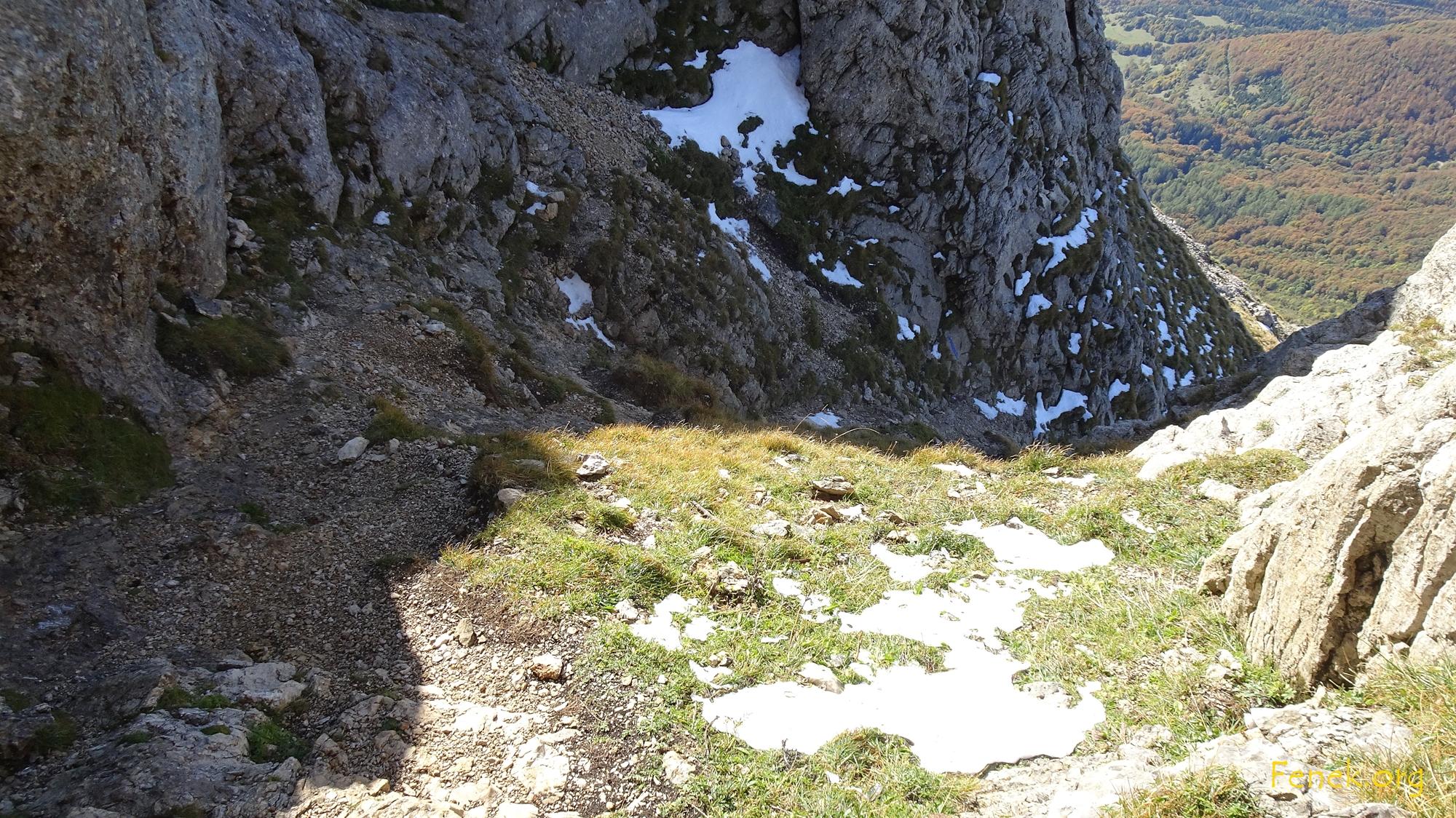 nach der Kletterpartie ein Blick zurück
