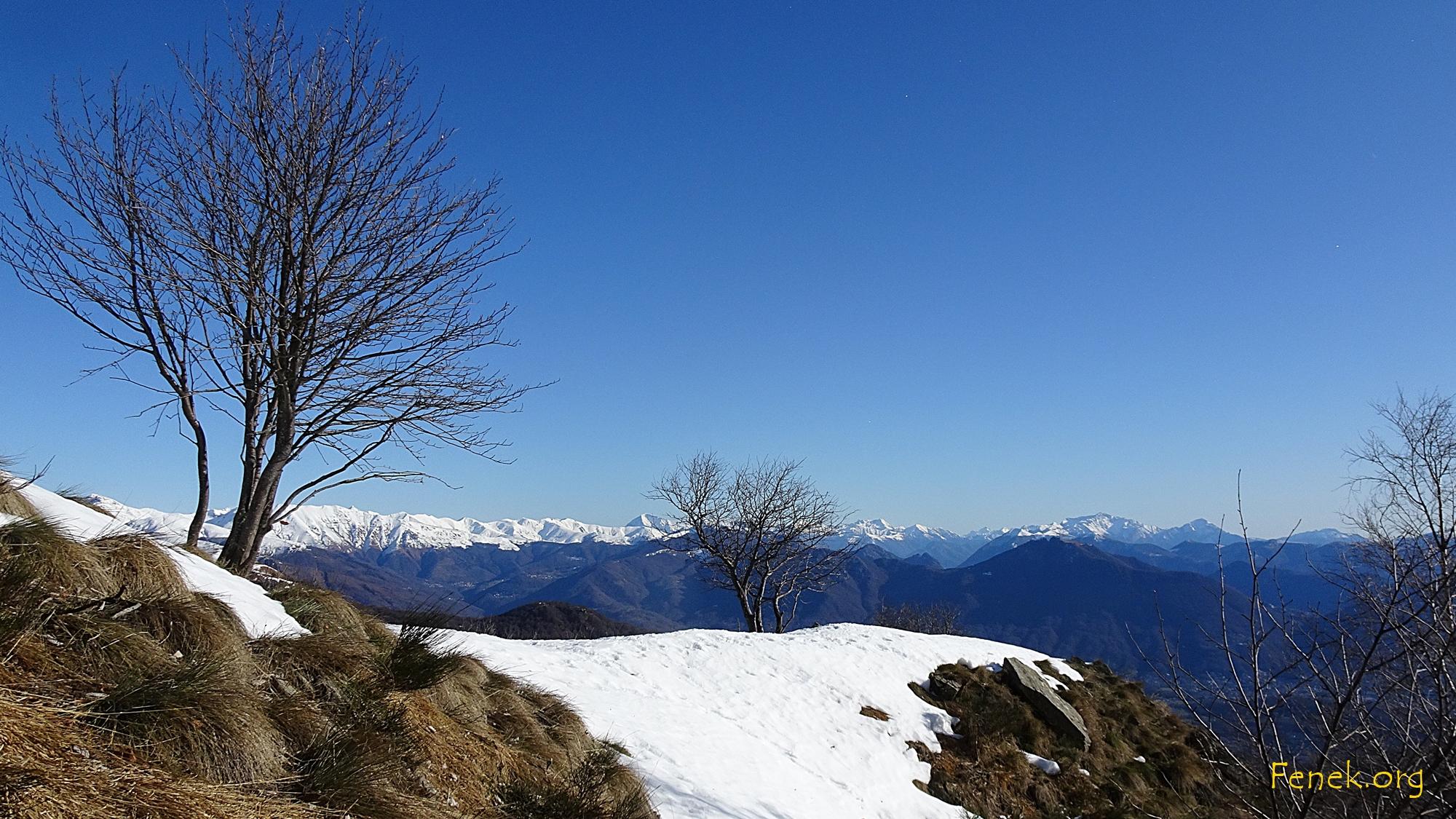 Aussicht Richtung Monte Boglia