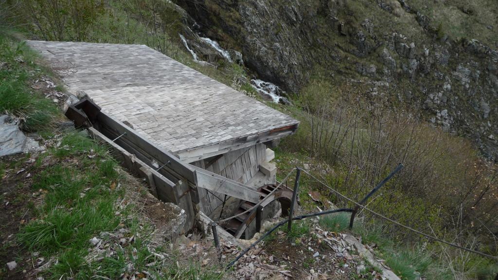 die Mühle von Chiboz