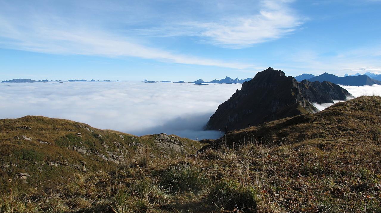 eindrückliches Nebelmeer